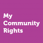 My Community Rights